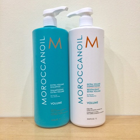 CẶP GỘI XẢ TĂNG PHỒNG MOROCCANOIL 1000ML - EXTRA VOLUME SHAMPOO AND CONDITIONER