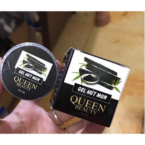 Gel lột mụn than tre queen