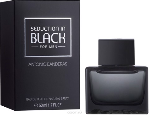Nước hoa nam seduction in black 100ml - fake sing