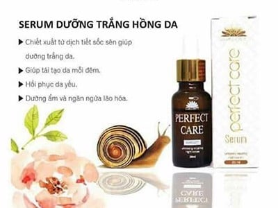 Serum ốc Perfect Care dưỡng da