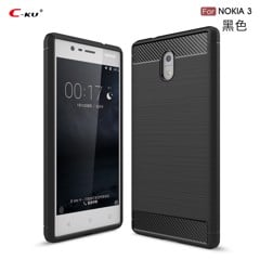 Ốp lưng silicon iPaky Carbon Fit Nokia 6