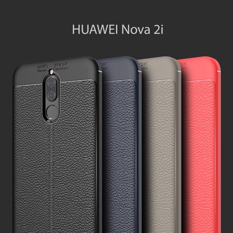 Ốp lưng silicon Ultimate Leather Huawei Nova 2i
