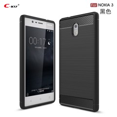 Ốp lưng silicon Carbon Fit Nokia 8