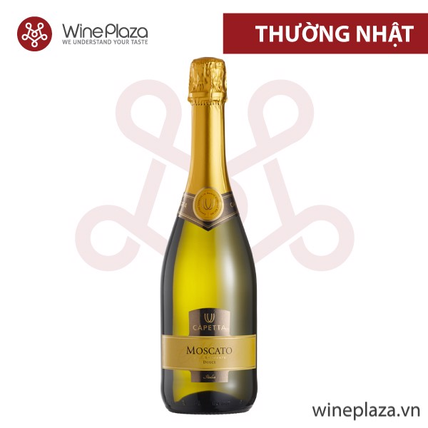 Rượu vang nổ Italy - Moscato Spumante