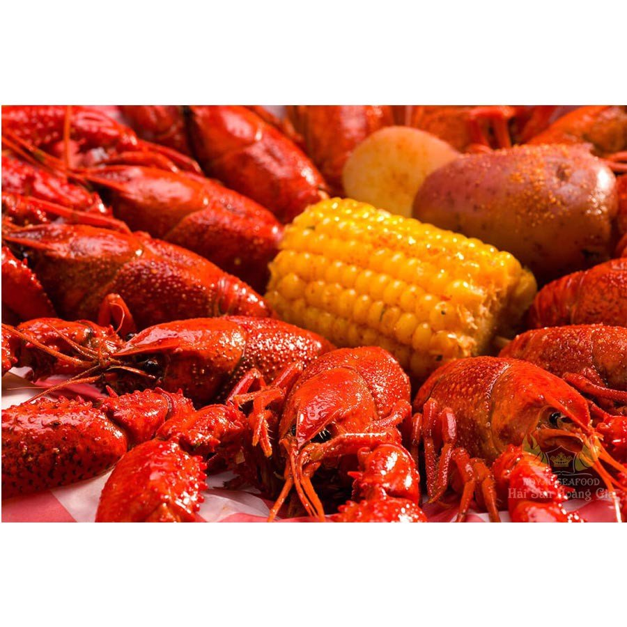 Crawfish sốt cajun
