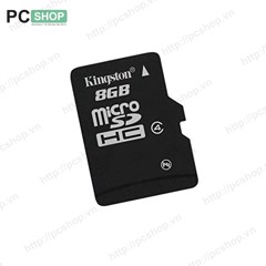 Thẻ nhớ MicroSD Kingston SDC4 8GB - Ko adapter
