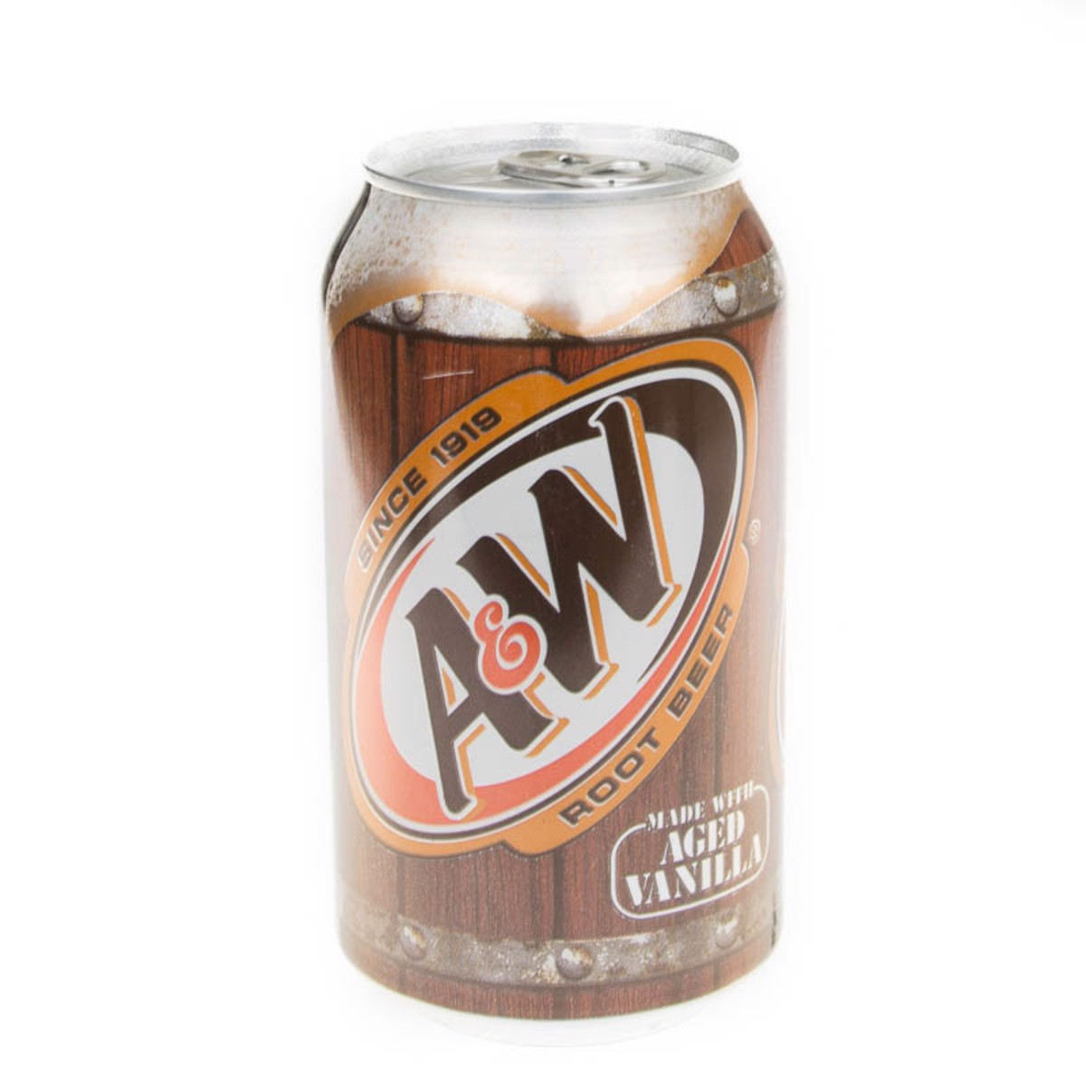 A&W Root Beer 355ml (lon)