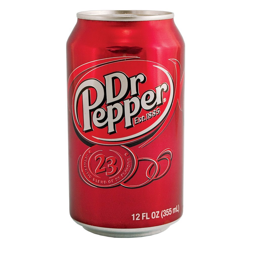 Dr Pepper 355ml (lon)