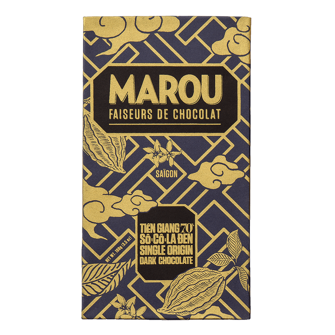 Marou Chocolate Tiền Giang 70% (thanh 24g)
