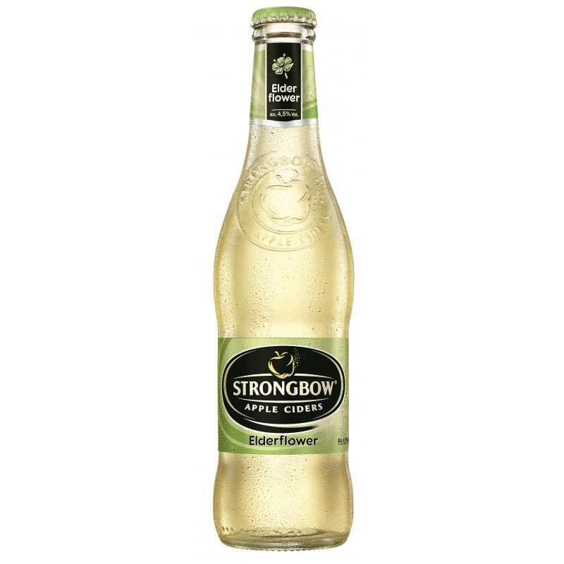 Strongbow Elder Flower 330ml (chai)