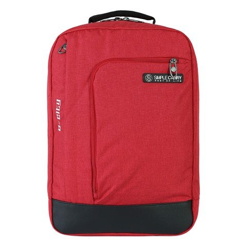 Balo laptop 15.6 inch simplecarry E City Red