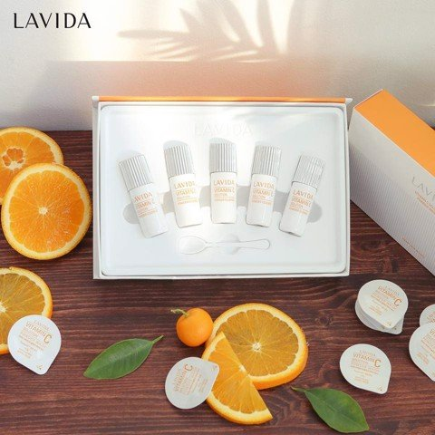 Lavida White Solution VC Powder Essence