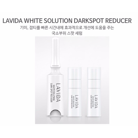 Kem trị nám Coreana Lavida White Solution Darkspot Reducer