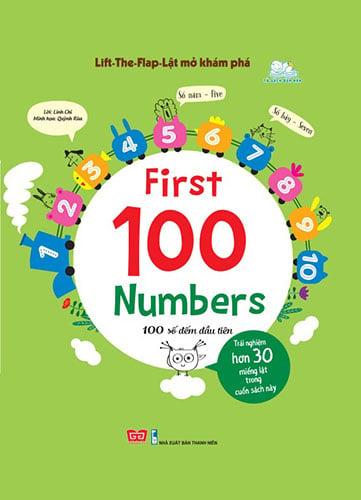 Lift-The-Flap-Lật mở khám phá - First 100 Numbers - 100 số đếm đầu tiên
