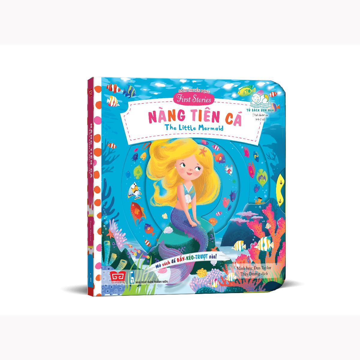 Sách chuyển động - First stories - The little mermaid – Nàng tiên cá