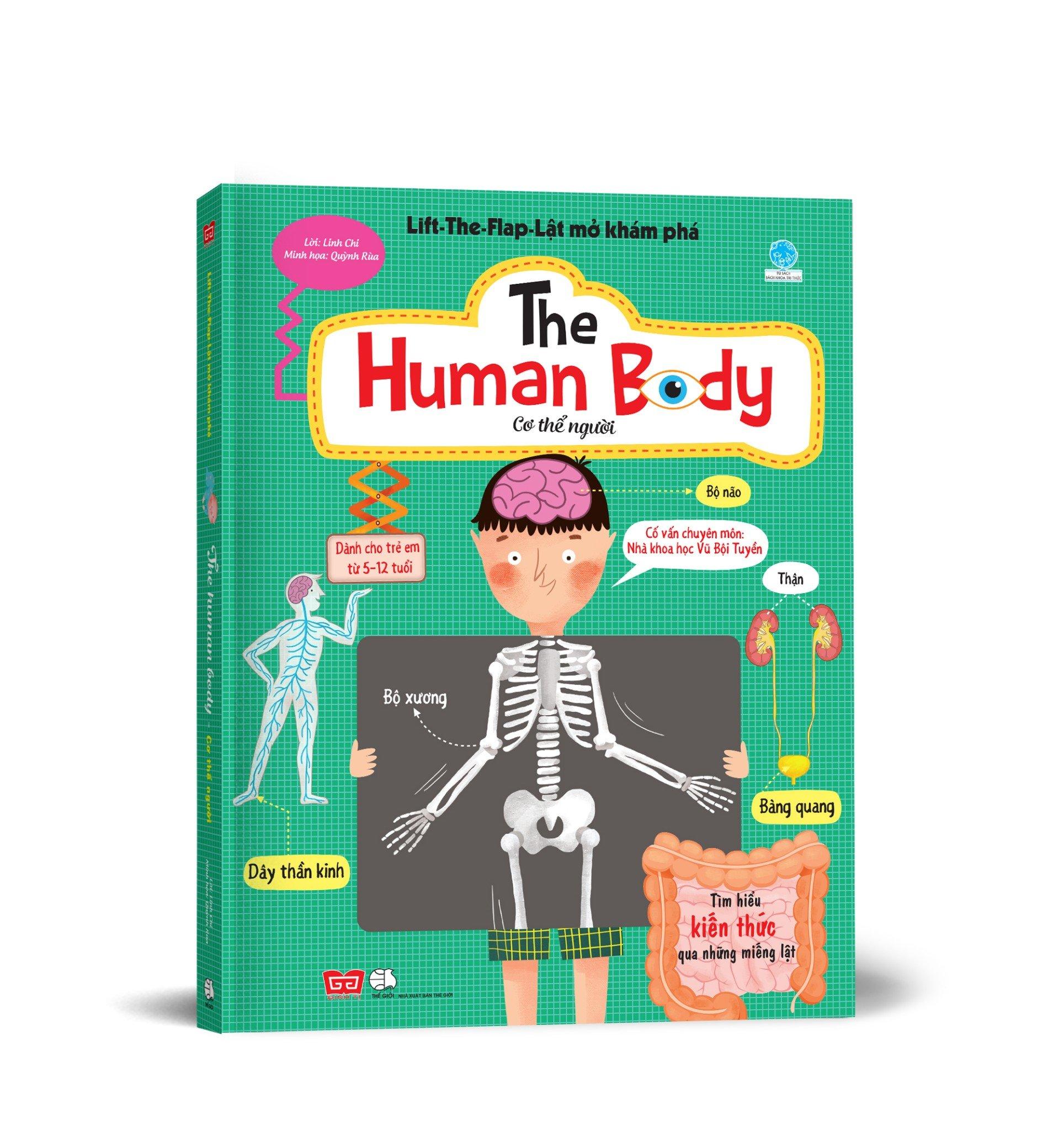 Lift-the-flap-Lật mở khám phá - Cơ thể người (Dành cho trẻ em từ 5-12 tuổi)