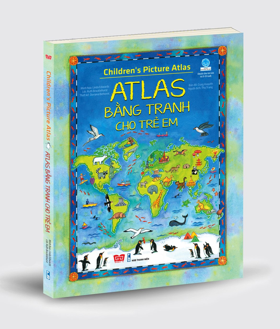 Children's Picture Atlas of Animals - Atlas bằng tranh cho trẻ em