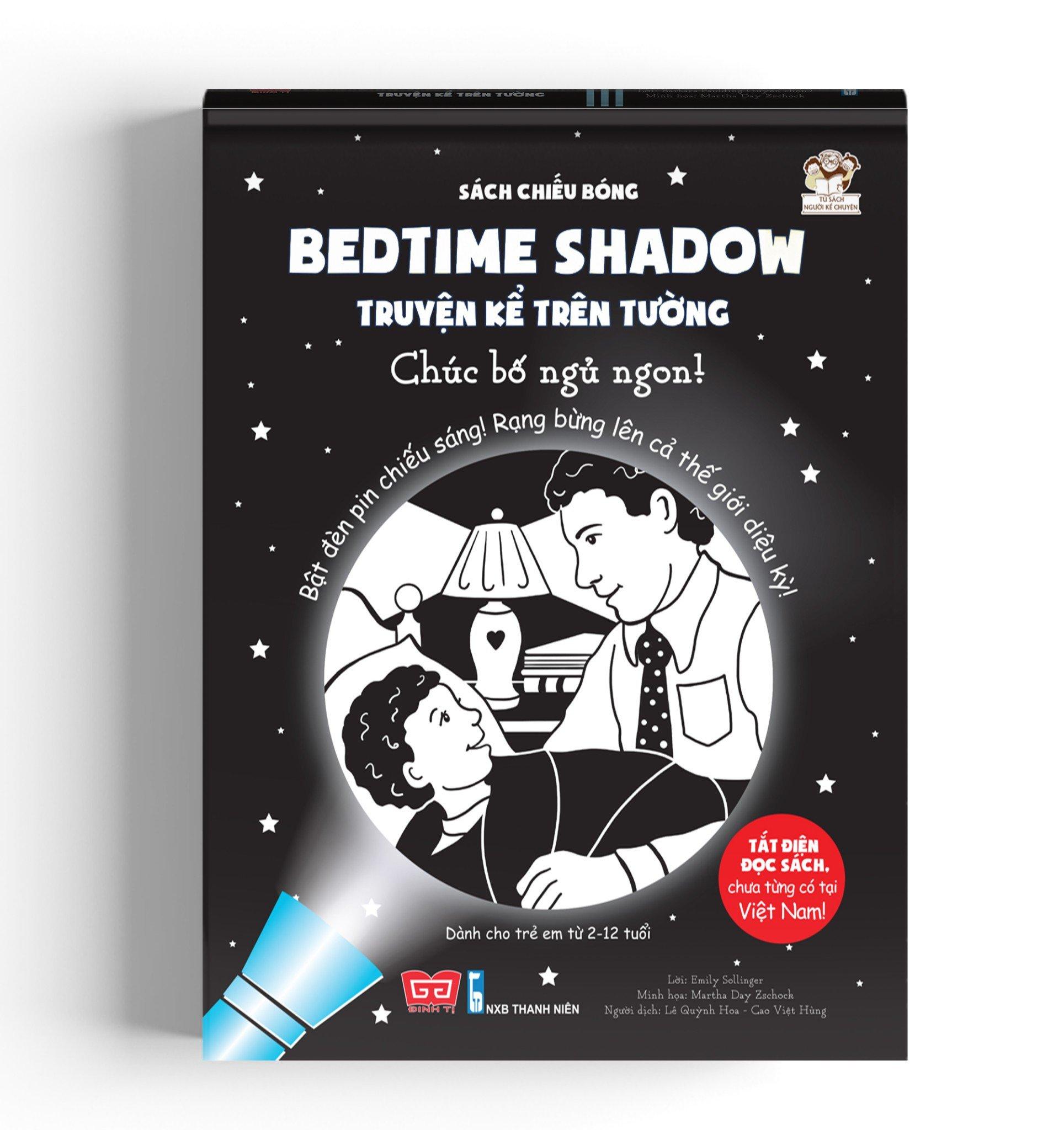 Sách chiếu bóng - Bedtime shadow – Truyện kể trên tường - Chúc bố ngủ ngon!
