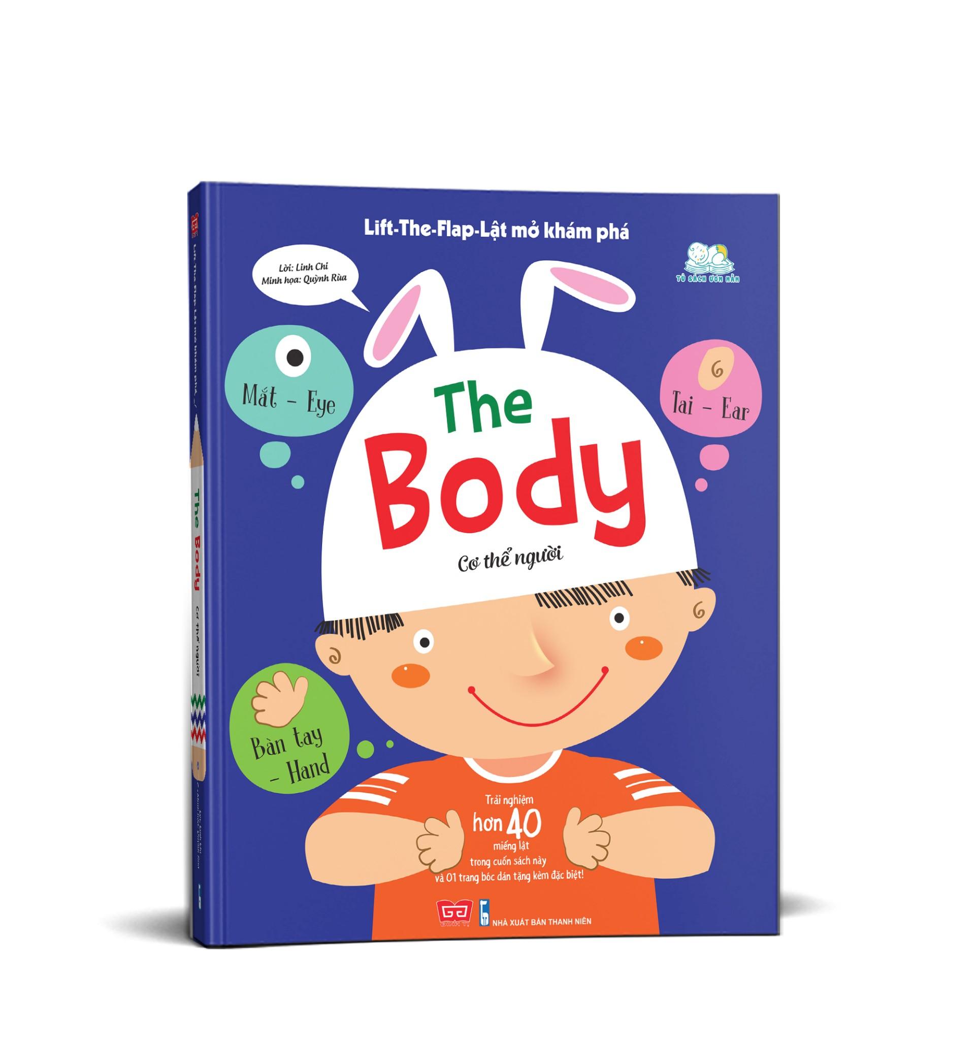 Lift-The-Flap-Lật mở khám phá - The Body - Cơ thể người (tái bản 2018)