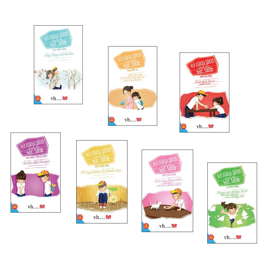 Combo: Kỹ năng sống dành cho học sinh (7 tập)