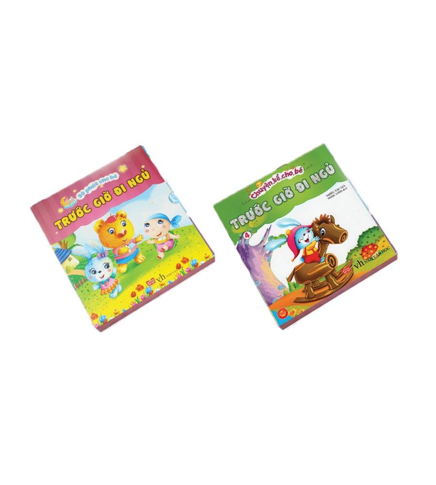 Combo hộp sách Chuyện kể cho bé trước giờ đi ngủ + 30 phút cho bé trước giờ đi ngủ