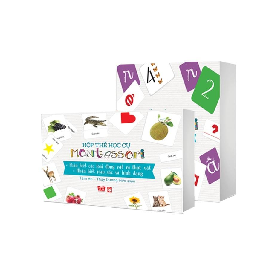 Set 2 hộp học cụ Montessori