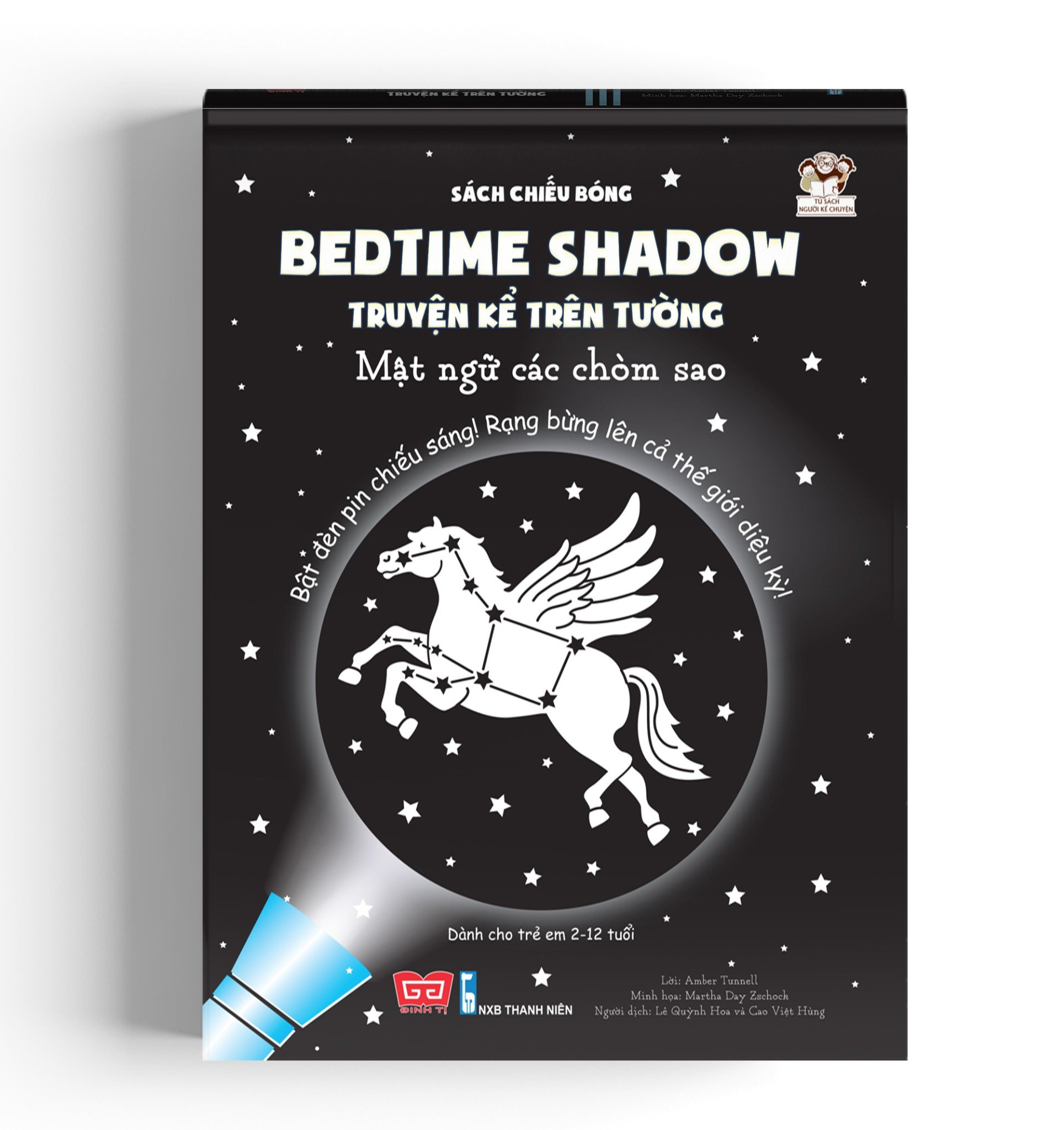 Sách chiếu bóng - Bedtime shadow – Truyện kể trên tường - Mật ngữ các chòm sao (TB)