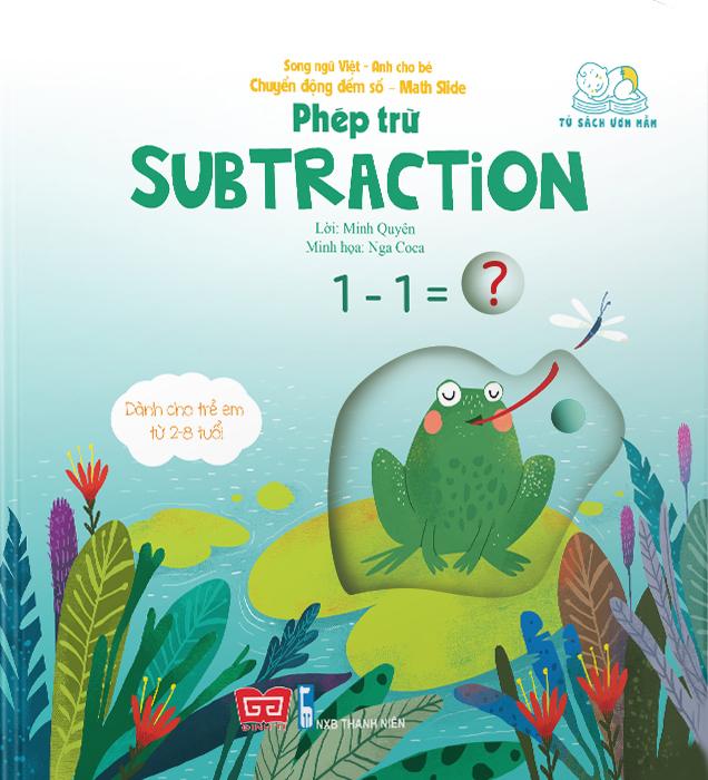 Chuyển động đếm số - Math slide - Phép trừ - Subtraction