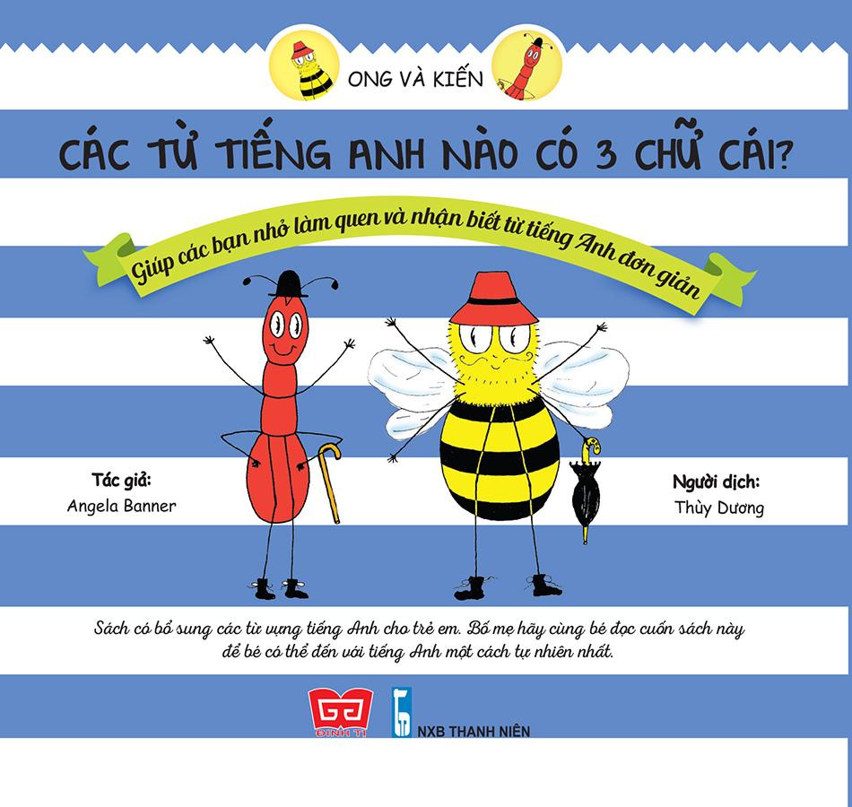 Ong và Kiến 2 - Các từ tiếng Anh nào có 3 chữ cái?