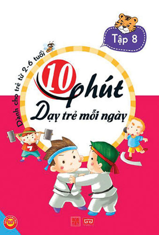 10 phút dạy trẻ mỗi ngày T8