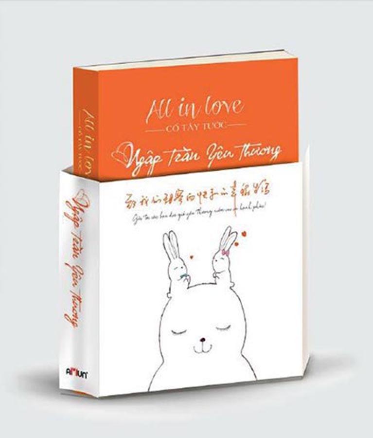 All in love - Ngập tràn yêu thương bìa cứng (Tặng kèm 10 postcard)