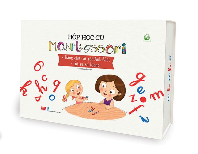 Hộp học cụ Montessori - Bảng chữ cái rời Anh-Việt: Số và số lượng