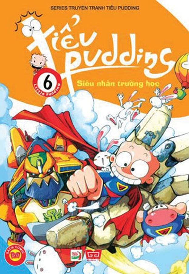 Tiểu Pudding 6 - Siêu nhân trường học
