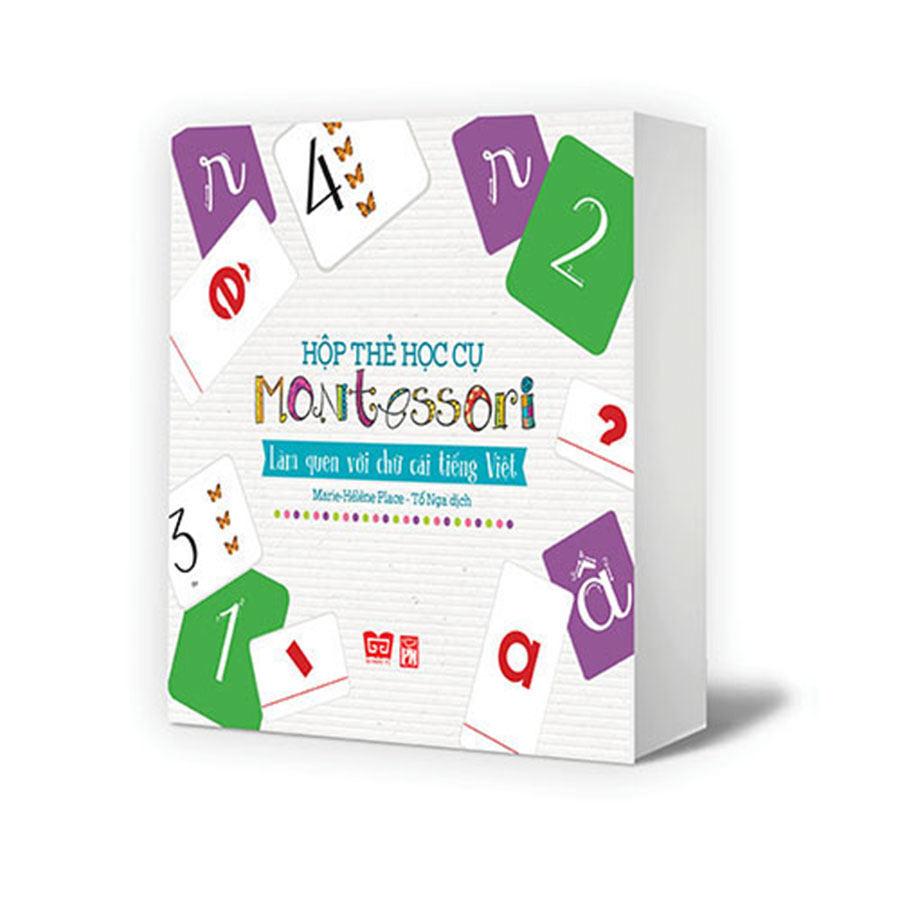 Hộp thẻ học cụ montessori - Làm quen với chữ cái TV, Bước đầu đến với toán học