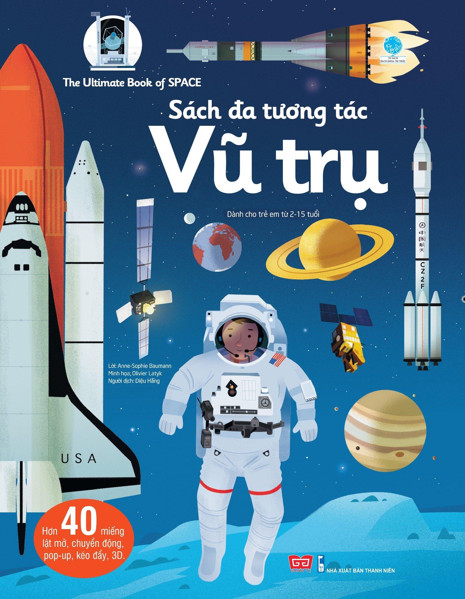 The Ultimate Book of Space - Sách đa tương tác - Vũ trụ