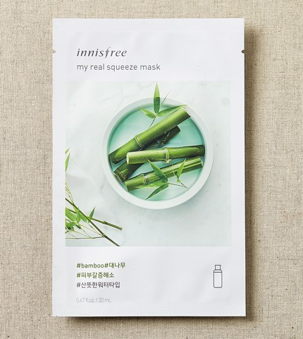 MẶT NẠ INNISFREE MY REAL SQUEEZE MASK (NEW 2017)