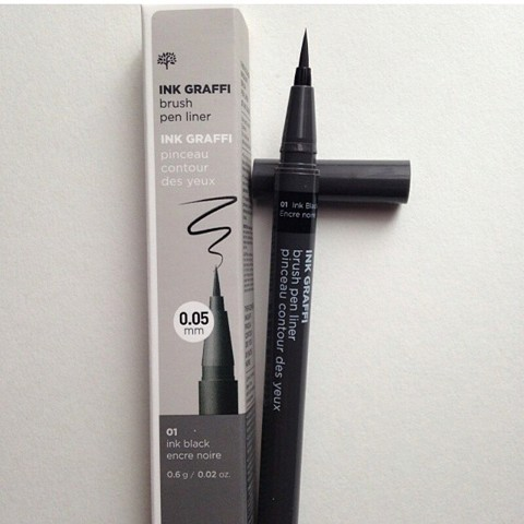 BÚT DẠ KẺ MẮT INK GRAFFI BRUSH PEN LINER THE FACE SHOP