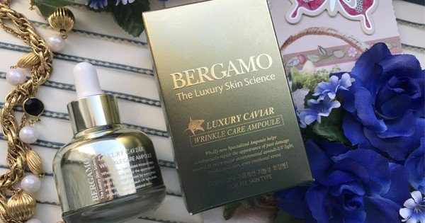 Tinh Chất Bergamo Luxury Skin Science Luxury Caviar Wrinkle Care