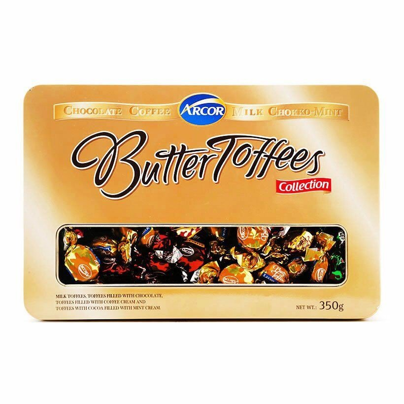 Kẹo Butter Toffees Collection Arcor 350g