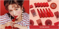 SON THỎI 3CE RED RECIPE MATTE LIP COLOR