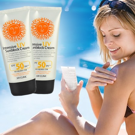 KEM CHỐNG NẮNG 3W CLINIC INTENSIVE UV SUNBLOCK CREAM