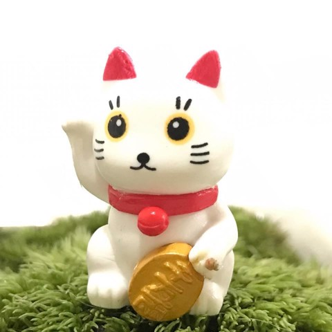 Mèo may mắn mini
