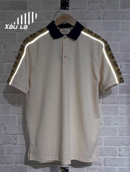 Gucci Polo Interlocking G stripe White (1:1)