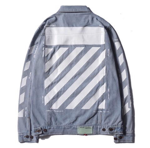 OFF WHITE DENIM JACKET TEMPURATE