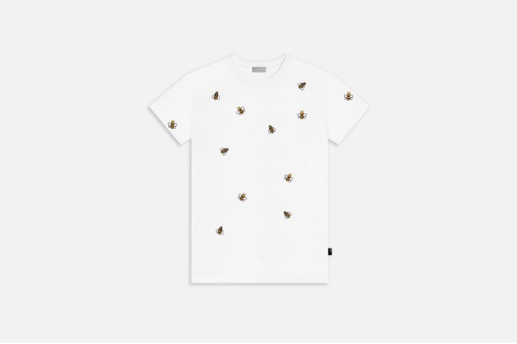 COTTON T-SHIRT, DIOR X KAWS BEES