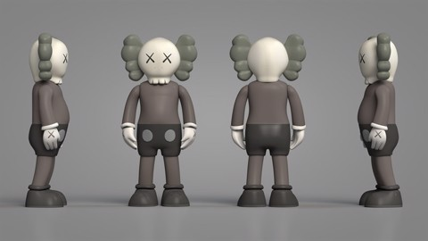 Kaws Open Edition Vinyl Figure