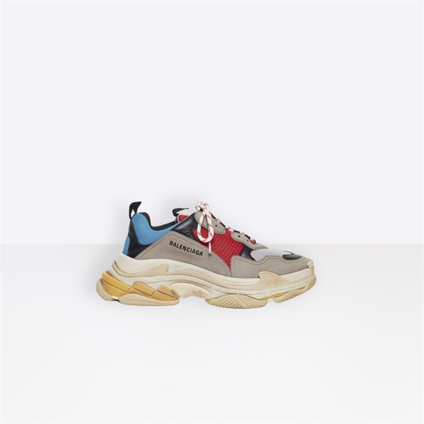 BALENCIAGA TRIPLE S ''BLUE/RED'' (PK)