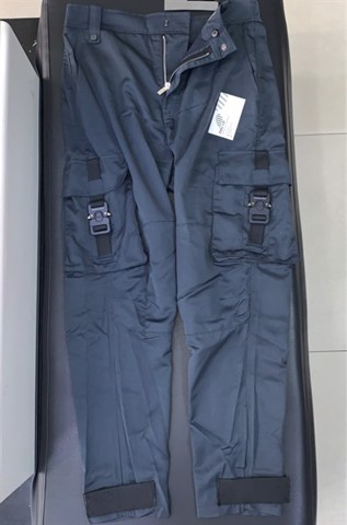 DIOR TECHNICAL COTTON CARGO PANTS NAVY,