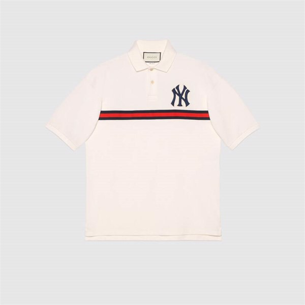 GUCCI Men's polo with NY Yankees™ patch