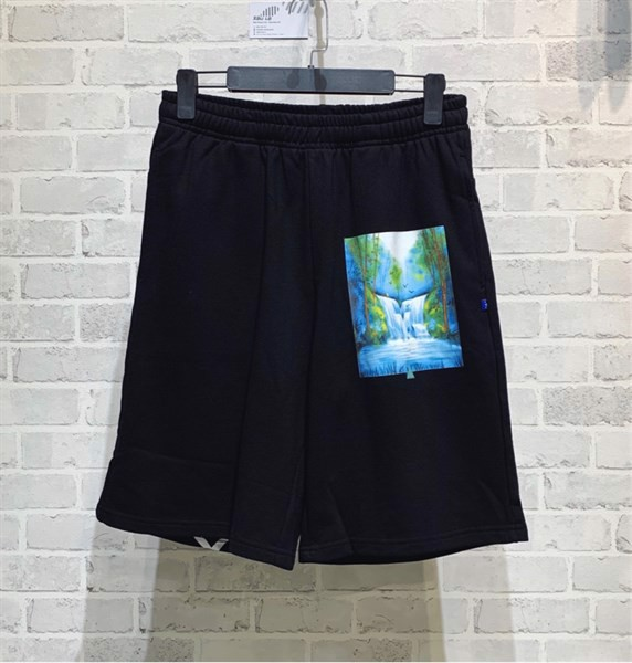 OFF-WHITE waterfall print shorts
